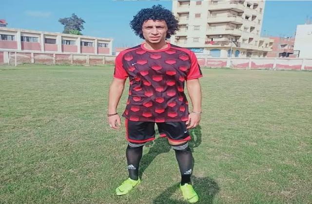 أحمد عمارة لاعب نادي سيدي سالم