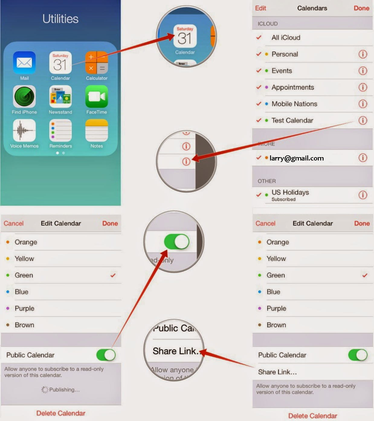 How To Share Icloud Calendars On Iphone And Ipad Techsupport Bmw Wds Java Wiring Diagram That Calendar Will Now Be Shared Publicly Apples Site Anyone Everyone Who Knows Where Look Able See It But Not Edit