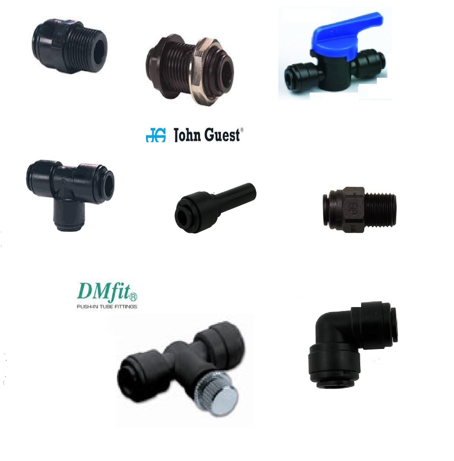 Osmosi microfiltrazione erogatori acqua john guest for Raccordi per tubi in rame e plastica