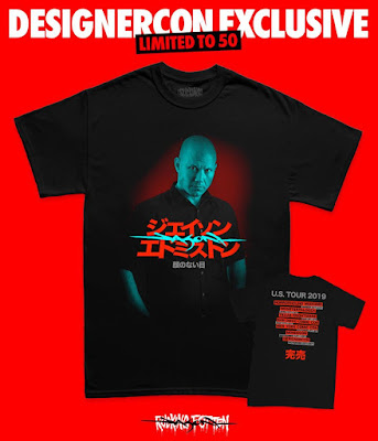 Designer Con 2019 Exclusive Jason Edmiston Tour T-Shirt by Rucking Fotten