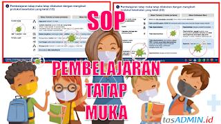 SOP Pembelajaran Tatap Muka di Sekolah