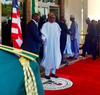 President George Weah Visits Nigeria, Meets Buhari
