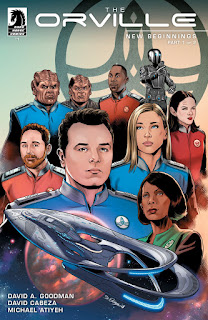 The Orville #1: New Beginnings Part 1 cover from Dark Horse