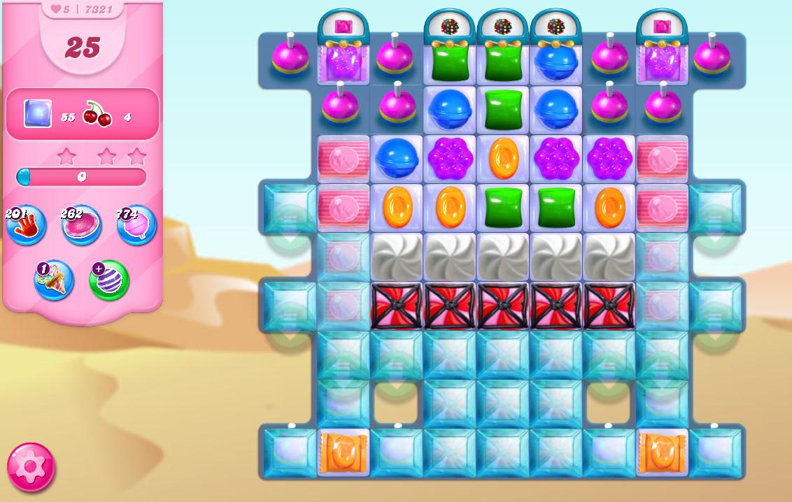 Candy Crush Saga level 7321