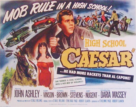 Poster - High School Caesar (1960)