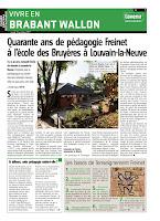 40 ans de pédagogie Freinet à Louvain-la-Neuve