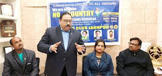 लायंस क्लब बन गई विश्व की सबसे बड़ी सेवाभावी संगठनः डा. क्षितिज शर्मा  | #NayaSaberaNetwork