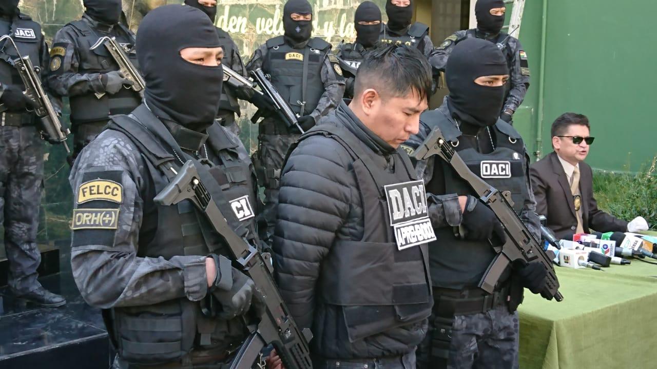 Uno de los atracadores de la banda que realizó tres asaltos violentos en menos de dos semanas / ÁNGEL SALAZAR