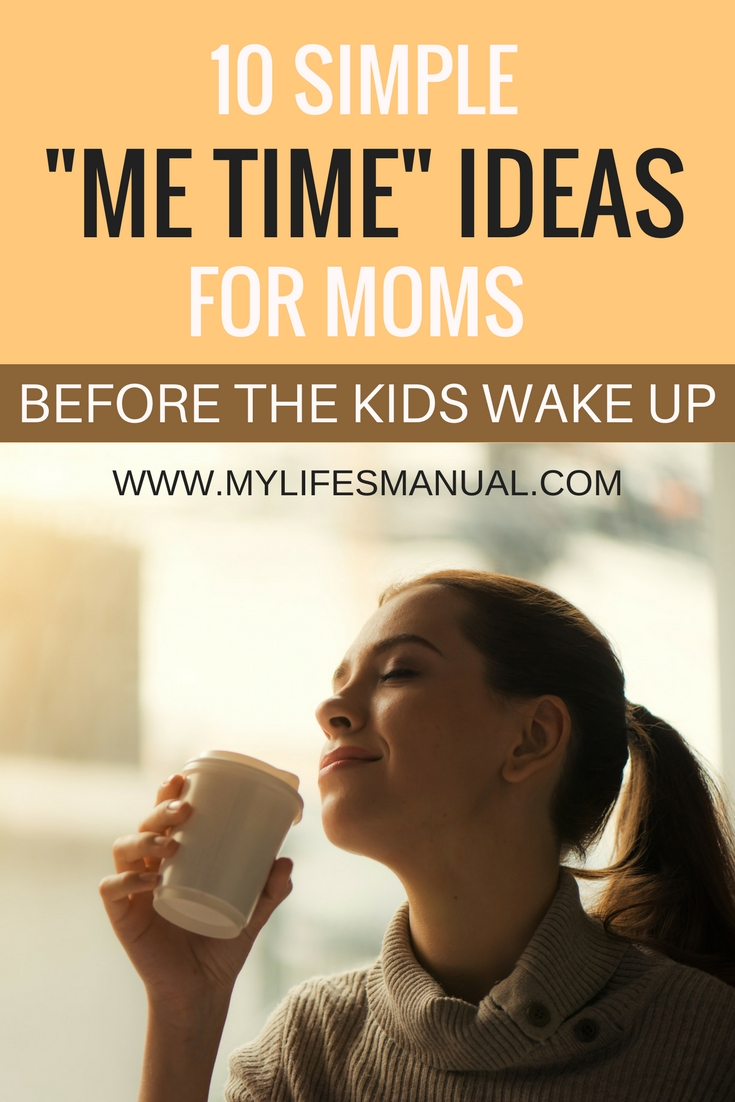 morning routines for moms before toddler wakes up