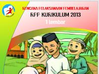 RPP 1 Lembar PAI BP K13 SD/MI Kelas 1,2,3,4,5,6