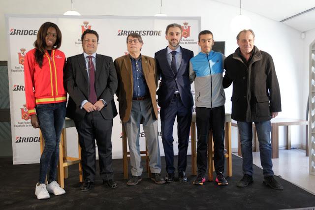 Bridgestone patrocinará el atletismo español