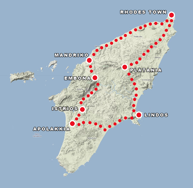 Rhodes Island Greece Map.20 Map Ofrhodes Island Greece Pictures And Ideas On Meta Networks
