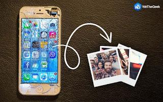 كيفية استرجاع الصور من الأيفون المعطل او المكسور