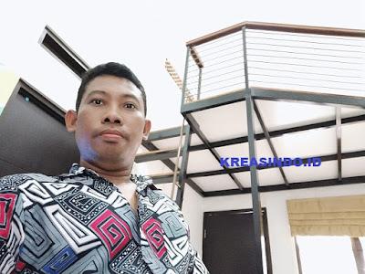 Mezzanine Besi Pemasangan di Rumah Bpk Dedy Perum D'marco Cilodong ini Keren