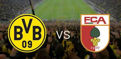 شاهد مباراة بوروسيا دورتموند وأوجسبورج بث مباشر 26-9-2020 في الدوري الألماني