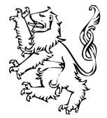 Blason escudo de armas leon significado heraldica