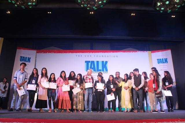 All Sessions, Speakers Report of Talk Journalism in Jaipur by Swastika Shruti