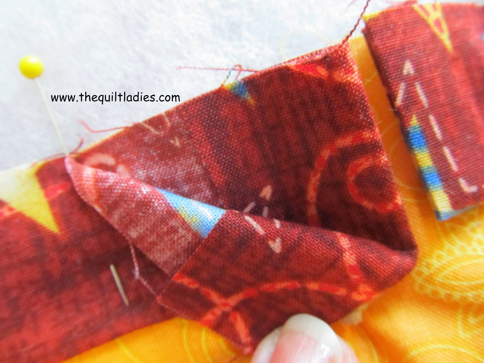 How to make Quilt Binding Tutorial and How to Hand Stitch the Bind