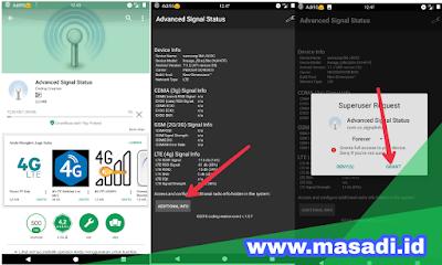 cara Kunci Sinyal 4G di HP Android