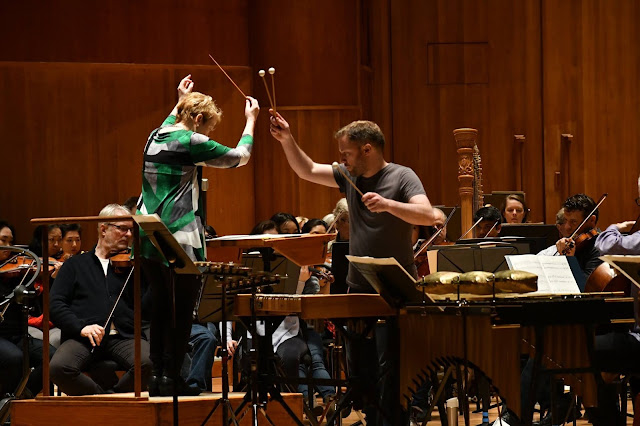Marin Alsop and Colin Currie