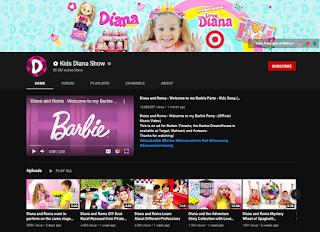 Kids Diana Show youtube channel