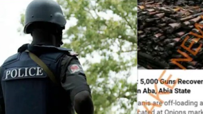 5000 Guns Recovered From Mosques In Aba Story Is A Hoax – Nigerian Police