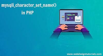 PHP myqli_character_set_name() Function