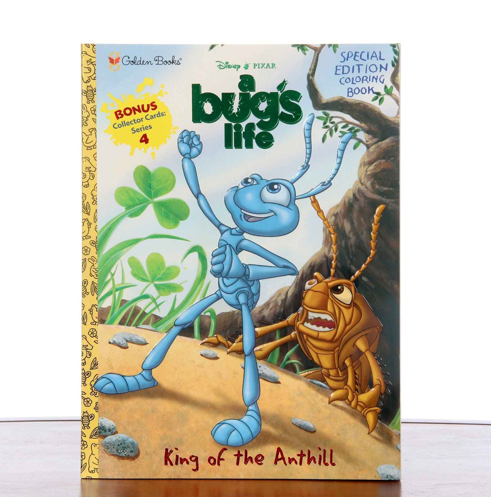 a bug's life king of the anthill color book