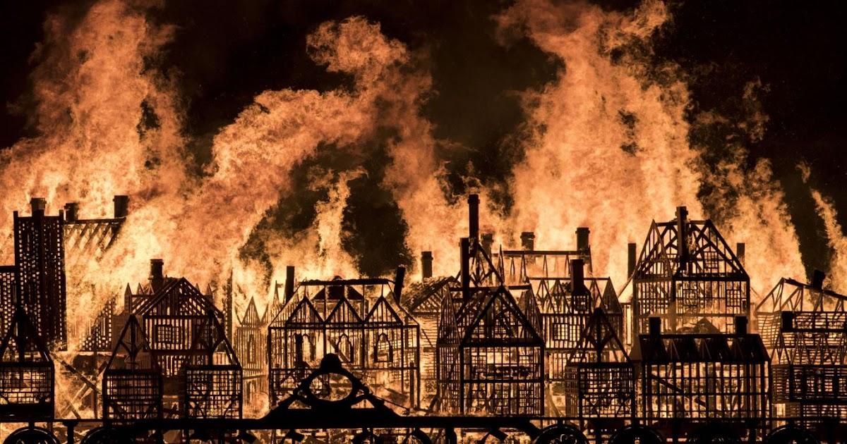 Great Fire of London, London, Fire