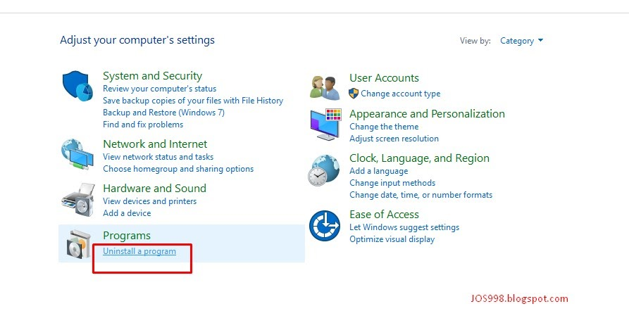 cara uninstall hapus uc browser berbahasa mandarin di pc