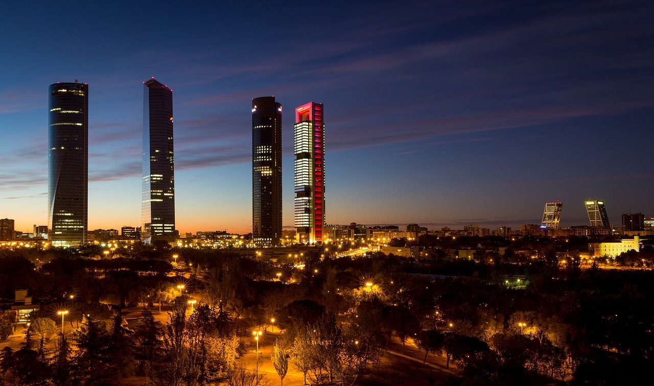 Spain cities