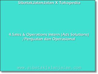 sales & operations intern ads solutions penjualan dan operasional