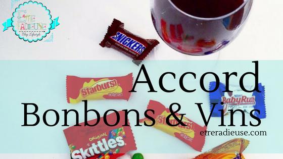 Lendemain d'Halloween: Accord Bonbons et Vin