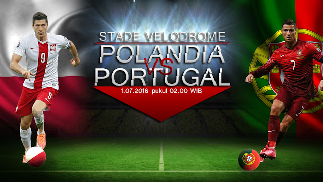 RCTI Live Streaming Euro Polandia vs Portugal 1 Juli 2016