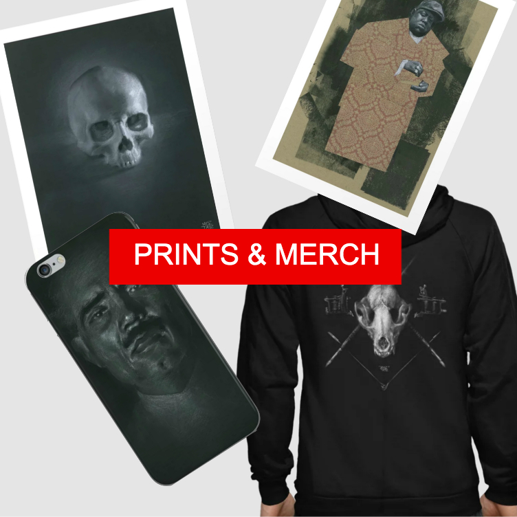 PRINTS & MERCH