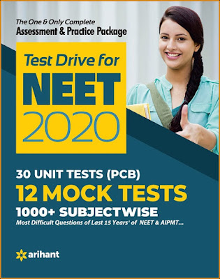 Arihant Latest NEET Test Drive ebook Pdf Download For Free