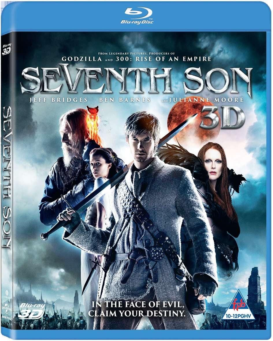 Seventh Son 3D Blu ray Cover Caratula