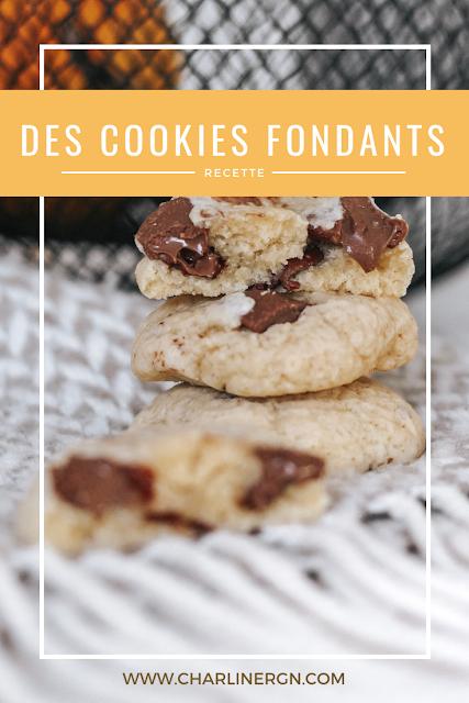 recette cookies pinterest