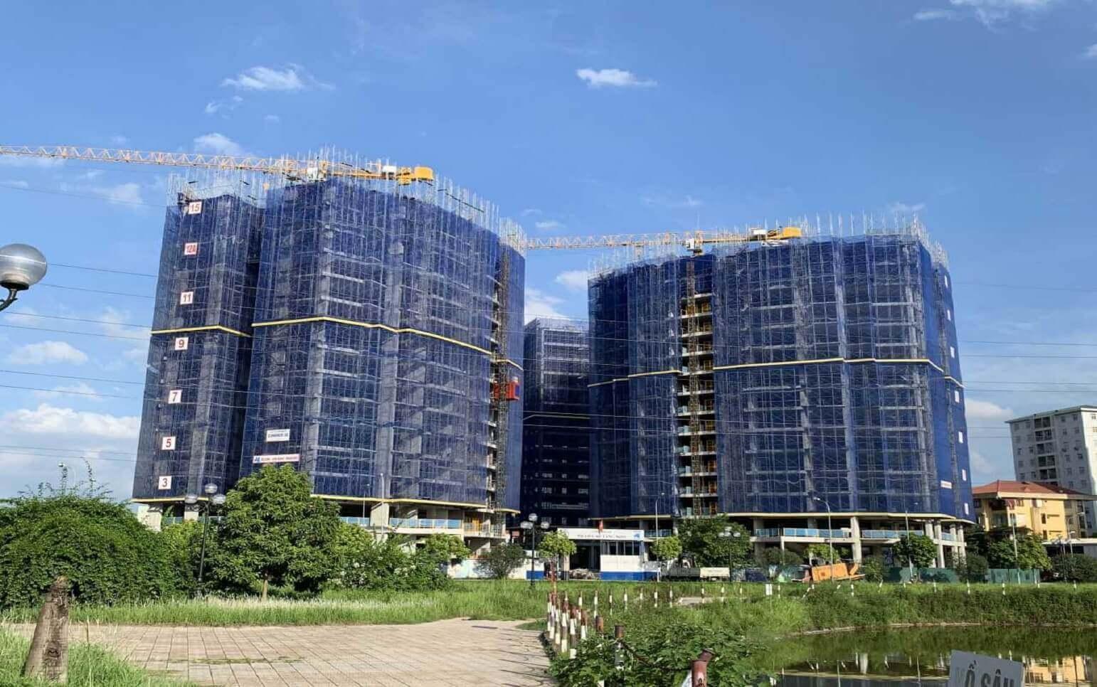 Mặt bằng thiết kế căn hộ chung cư No16 Sài Đồng – ducanhland