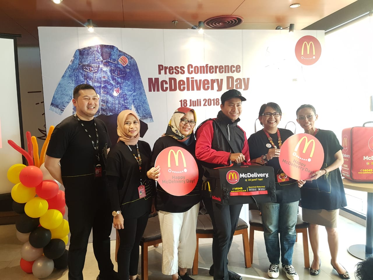 syarat mcdelivery day 19 juli mcdonald's