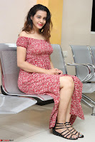Diksha Panth in a Deep neck Short dress at Maya Mall pre release function ~ Celebrities Exclusive Galleries 115.JPG