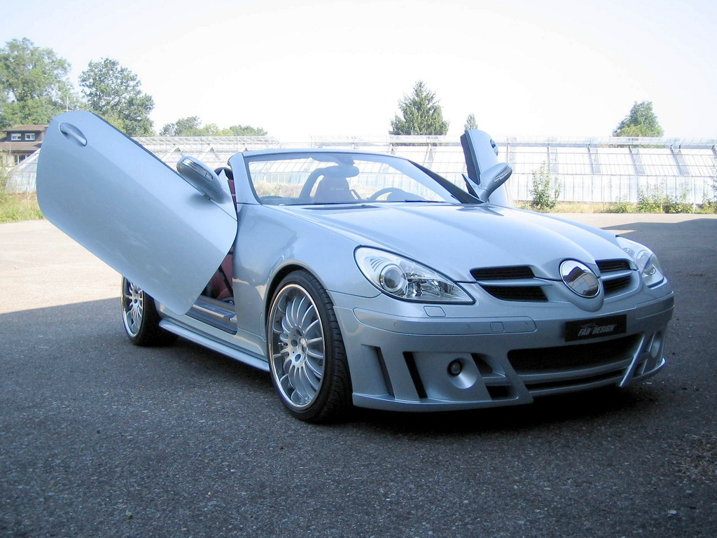 mercedes benz r171 slk by fab design benztuning. Black Bedroom Furniture Sets. Home Design Ideas
