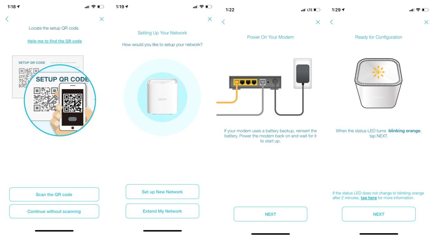 D-Link COVR 1100 AC1200 Wi-Fi Mesh Review Setup