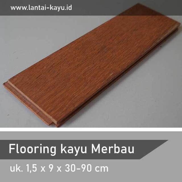 pemasangan lantai kayu merbau Bali