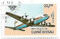 Selo Avião DC-6B