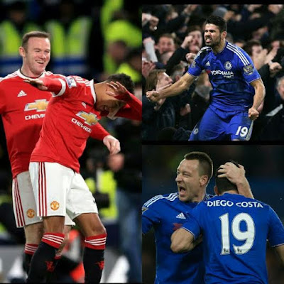 Chelsea 1-1 Man U. (Match analysis and photos) (Here)