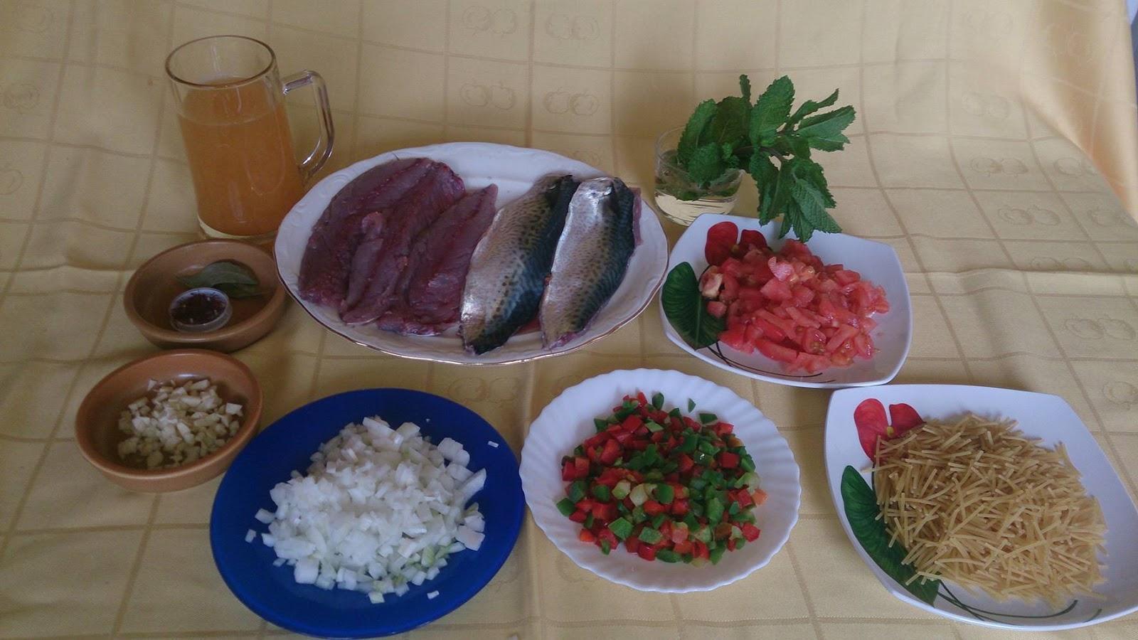 El placer de cocinar con paz mart nez fideos con caballa for Cocinar con 5 ingredientes