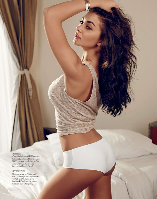 Amy Jackson fascinating photoshoot pictures for Maxim India