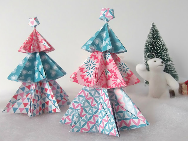 sapins origami