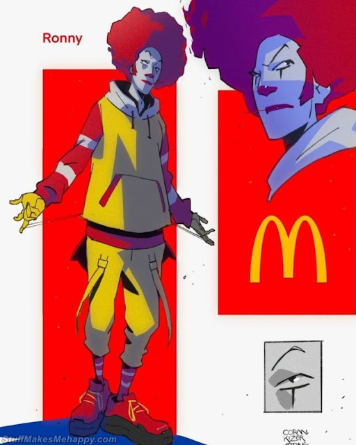 Illustrator Turns Fast Food Brands into Fighting Game Characters